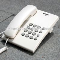 new style white very slim wall hang phone