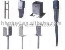 Hot dip galvanized or powder coated pole anchors with good quality and cheap price