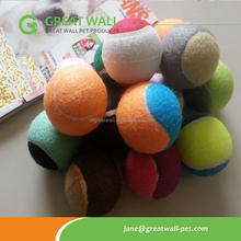 fashion and colored tennis ball for dog use