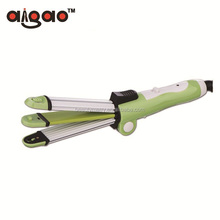 3 IN 1 Foldable Hair Curler and Hair Straightener Wave Hair Crimper