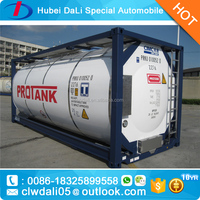 40ft 30ft 20ft LPG Fuel Oil used iso tank container for sale