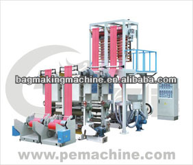 Double head High Speed HDPE Film Blowing Machine