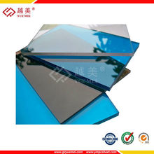 bronze 6mm solid polycarbonate, hollow sheet for ceiling materials