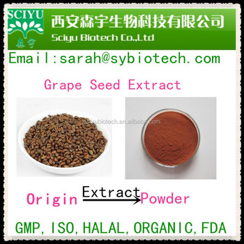 Anti-aging skin care polyphenol grape seed extract