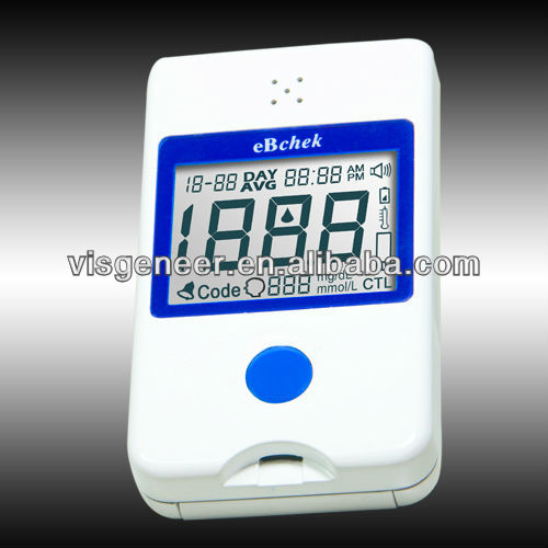 Talking Voice Bilingual Language medical diagnostic test kits