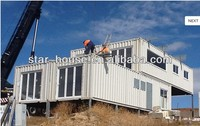 luxury prefab container living home container villa