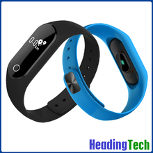 0.42 inch OLED screen smart bracelet with heart rate monitor, pedometer, sleep monitor etc