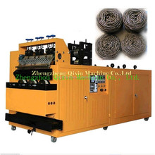 QIXIN hot sale 8 wires 4 balls automatic stainless steel mesh scourer making machine in cheap price