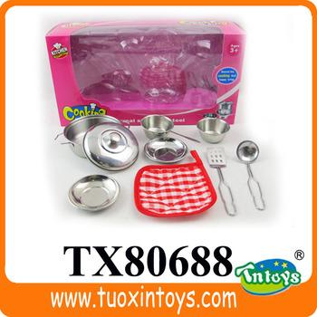 Kitchen queen 6pcs stainless steel cookware set buy for Kitchen queen set