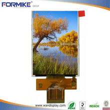 ce & rohs & iso factory supply 2.8 inch tft display with resistive touch panl