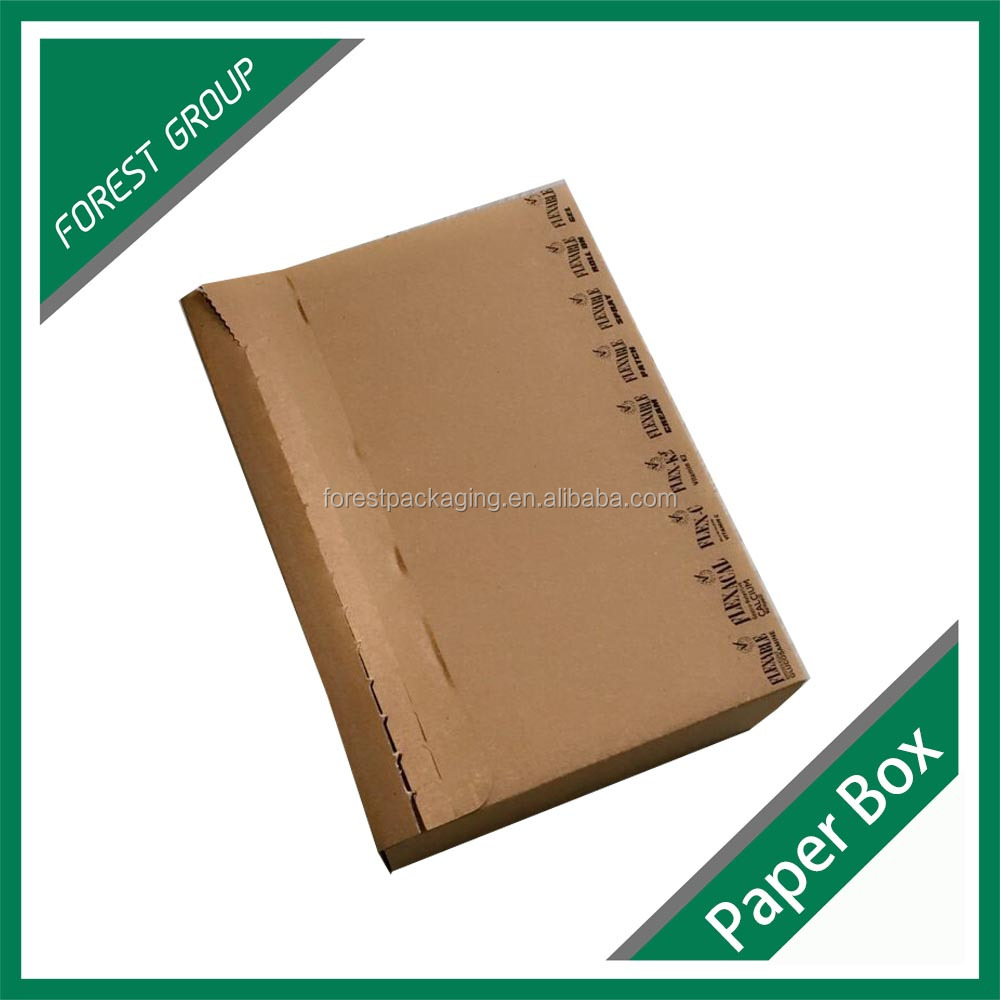 CUSTOM BROWN COLOR CORRUGATED BULK MAILING BOX