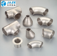 Stainless Steel Pipe Fittings Elbow Tee Reducer