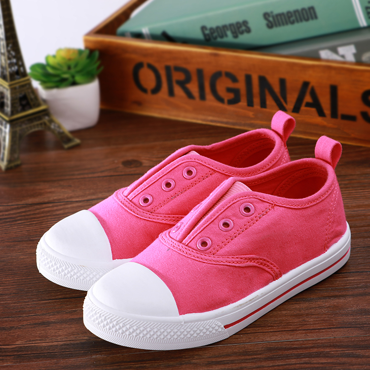 Canvas Various Color Or Custom WholesaleComfortable SoftKids Shoes