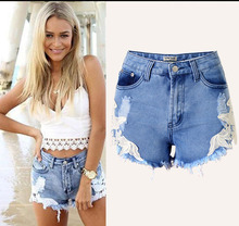 DON08 2016 Fashion Summer Low Waist Denim Short Jeans Pant Hot Girls Sexy Board Shorts Ladies Short Jeans Top Design