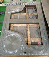Plate heat exchanger gasket mold Tranter/Hisaka UX80 series