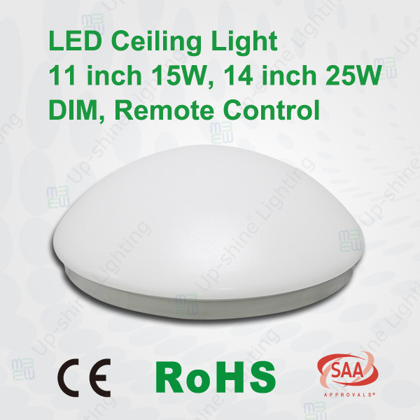 3 Years Warranty Surface Mounted Dimmable LED Ceiling Light 80lm/W CE RoHS SAA