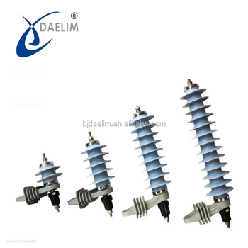 Daelim lightning arrester polymer housed arrester 11kv