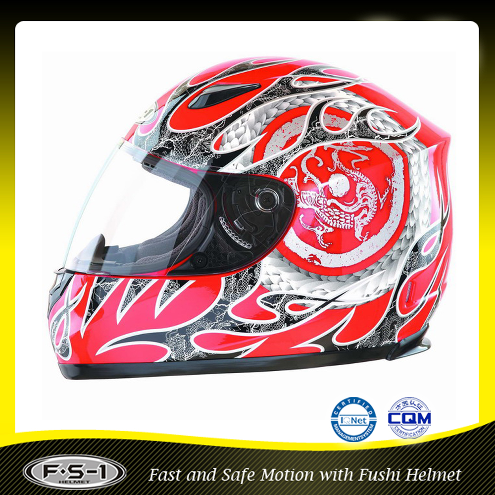 Top selling DOT certification custom tapy full face motorcross helmet with visor