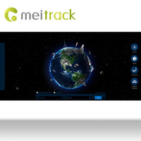 Meitrack package tracking software gps tracking software for gps tracker with google Maps Customization accepted MS03