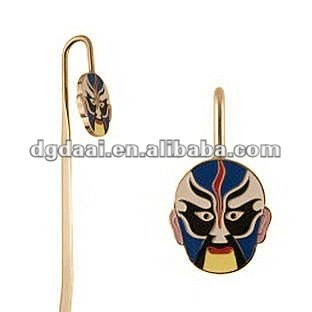 HOT Opera Facial Masks metal bookmarks