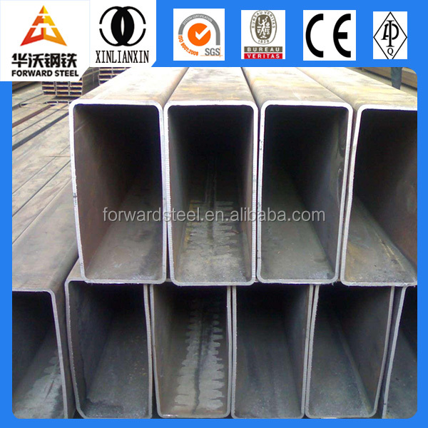 ERW tube steel pipes building material manufacturer frp square tube