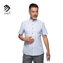Business Casual New Design Soft Plaid Shirt For Men 100% Cotton