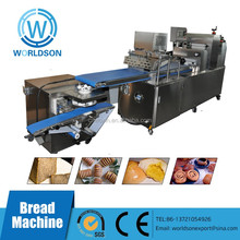 Electric puff pastry food machinery for small industries