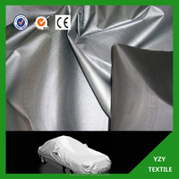 170T 180T 190T 210T Waterproof Silver Coated Car Cover Fabric
