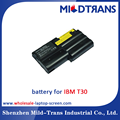 Laptop battery for IBM T30 11.1V 5.2Ah Black