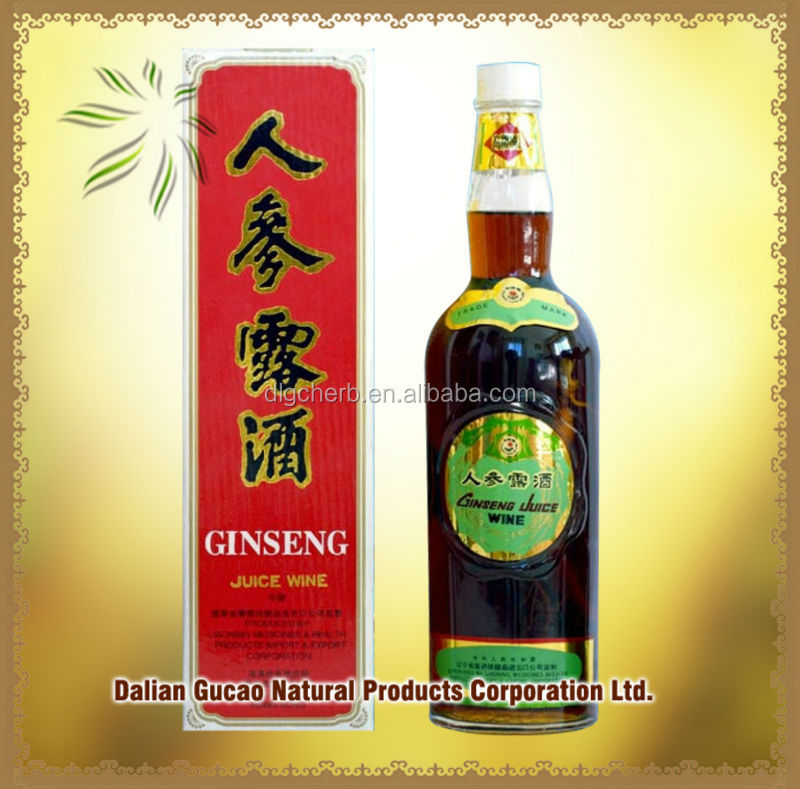 Drink Good Quality Ginseng Juice Wine/Fruit Wine