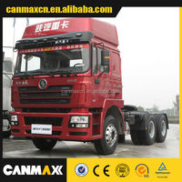 Popular 6*4 SHACMAN tractor truck red