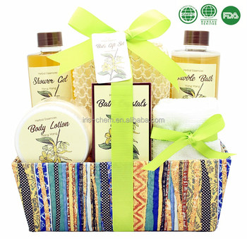 Luxury skin care full set bath and body works shower gel body lotion spa gift set
