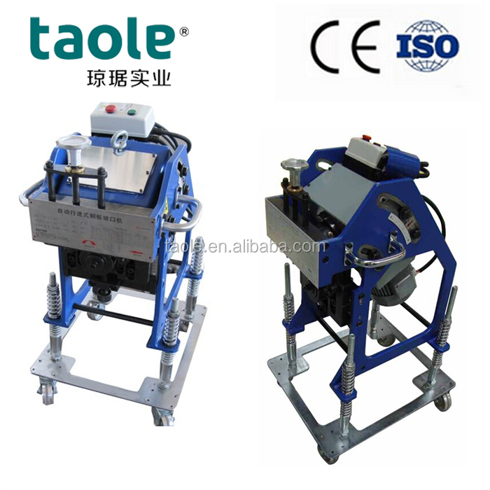 GBM-12/12D Automatic Walking Type Plate Beveling Machine