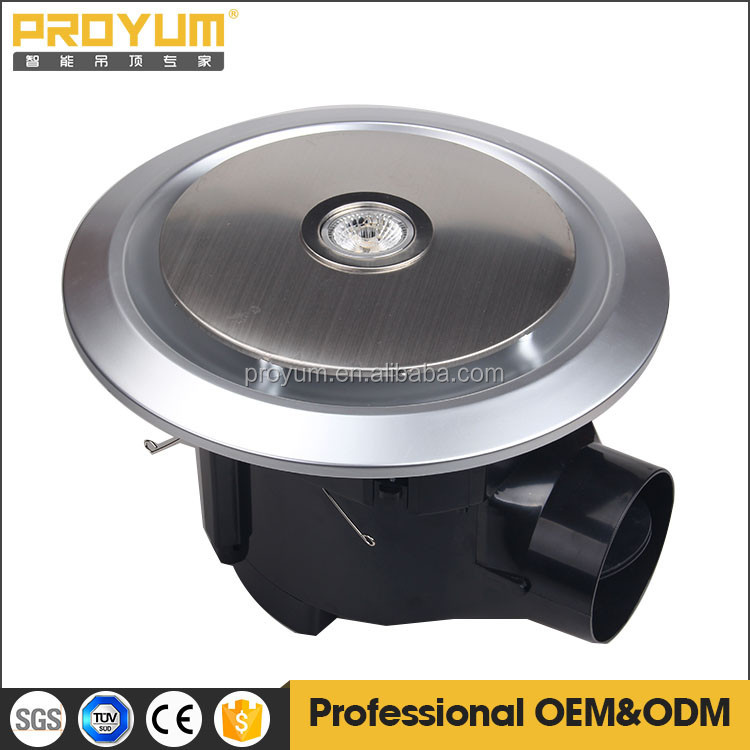 10 inch ceiling mounted Exhaust Fan with halogen lamp SAA approved silver color