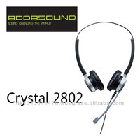 Crystal 2802 Noise-cancelling headsets for call centers and offices