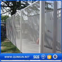 Best selling products green color pvc coated clearvu no climb fence