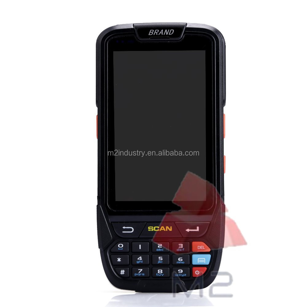 Android handheld terminal rugged mobile phone barcode scanner industrial machine wifi bluetooth sim card smart phone portable