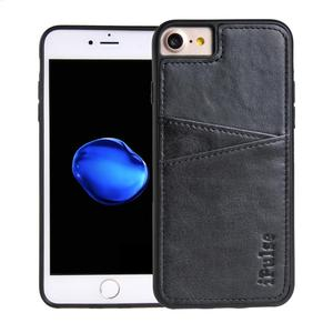 Leather Card Holder Phone Case Uee Design Luxury Case for iPhone 7 8
