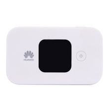 Huawei E5577Cs-321 Wireless Mobile Hotspot 4G WiFi Router with LCD Screen, Sign Random Delivery(White)
