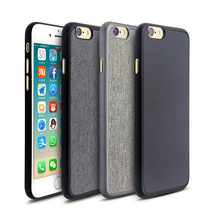 World's thinnest Best quality super slim ultrathin PP case with engrooved PU leather or canvas for iPhone 6s and for iPhone 7
