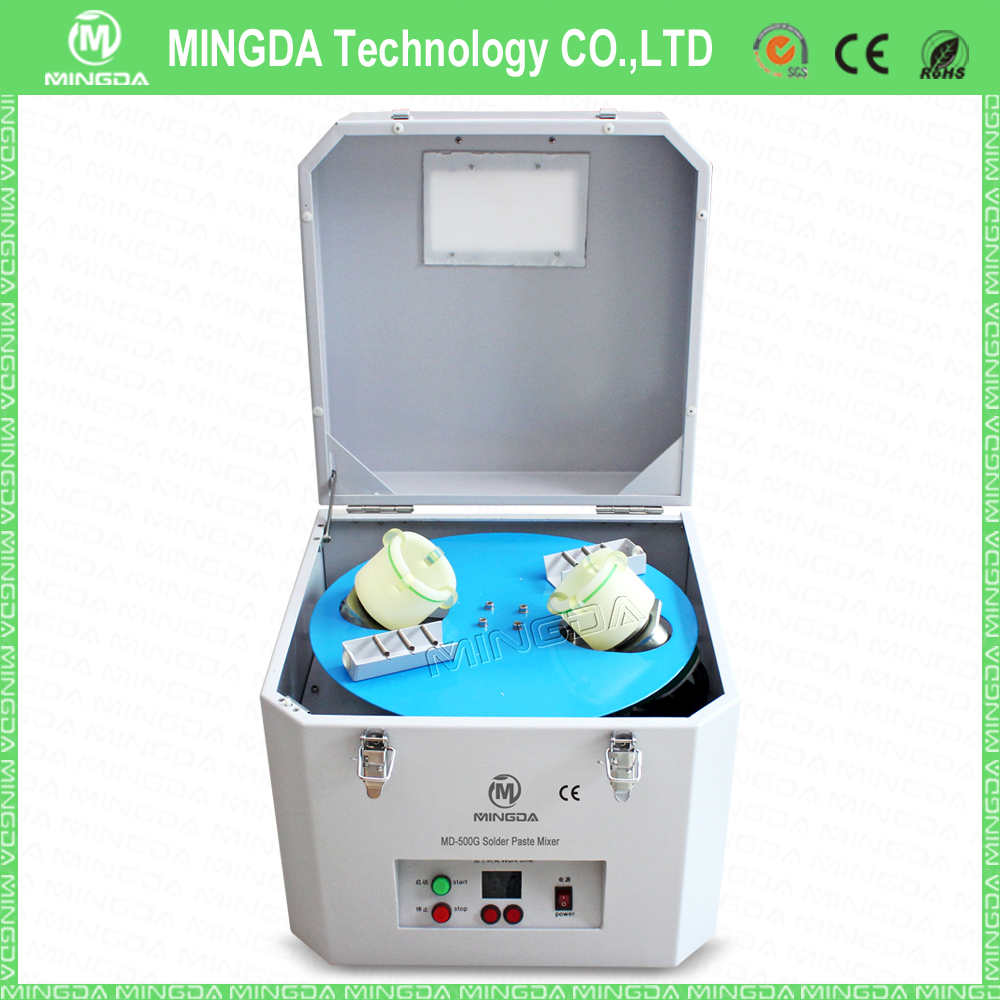 Full automatic SMT solder paste mixer 220/110V (500G-1000G) /industrial ink mixer/solder paste mixture solder mixing machine