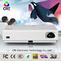 CRE X3001 Mini Portable 3D DLP HD LED Video Projector For Business 3000 Lumens Light Weight