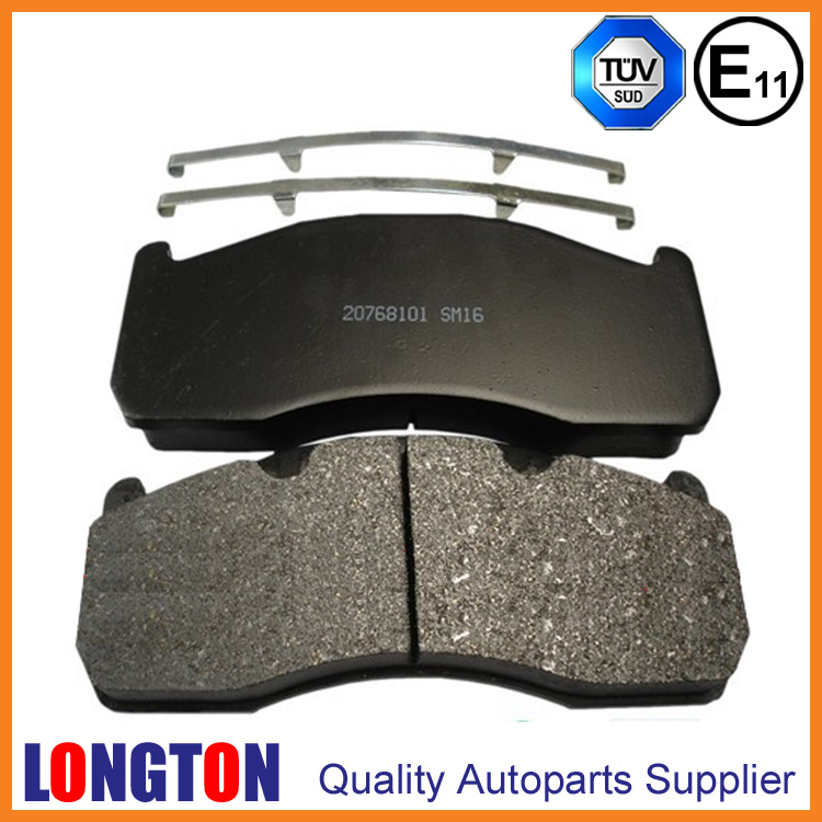 Truck Brake Pad WVA29151 for VOLVO Truck