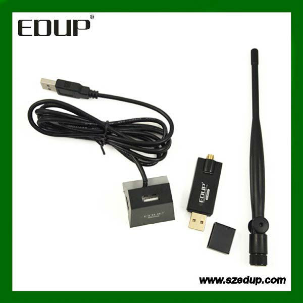 Popular EP-MS8521 300mbps 6dbi antenna usb network card for laptop and TV
