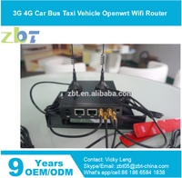 zbt we1026 3G 4G Car Bus wifi router with built-in SIM card slot