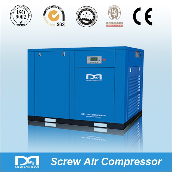 55kw 75hp industrial ac electrical rotary screw air compressor price