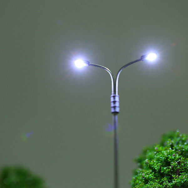 1:87 HO scale model street lights (D-G3)
