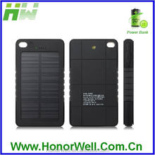 Waterproof Solar Energy Cell Charger Power Bank Charger 5000mAh Cellphone Solar Chagers HW-PB-237