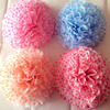 good quality 17g tissue paper flower ball for wedding /home decoration