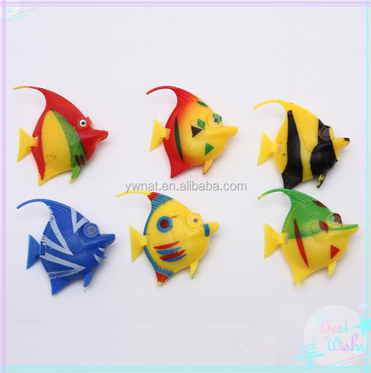 Artificial Plastic Angel Fish,Fake Tropical Fish,Decorative Plastic Fish